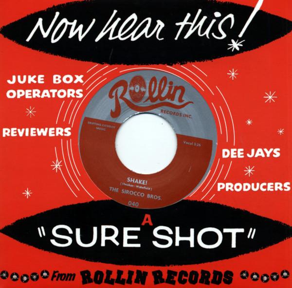 Shake! - Davy Jones' Locker (7inch, 45rpm, CS)
