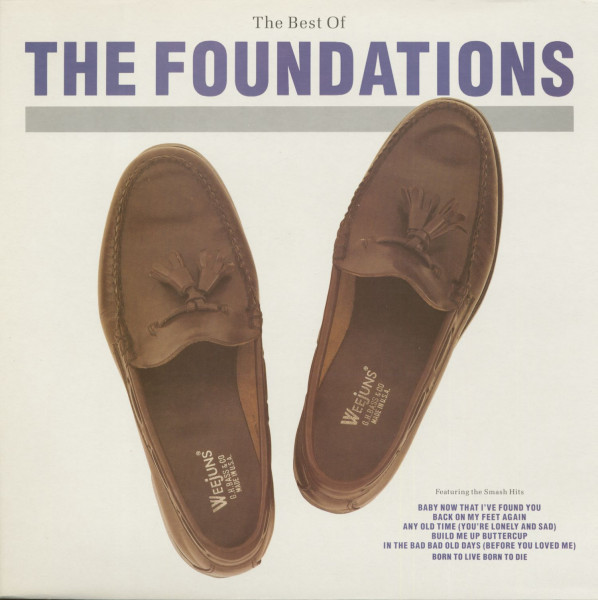 The Best Of The Foundations (LP)