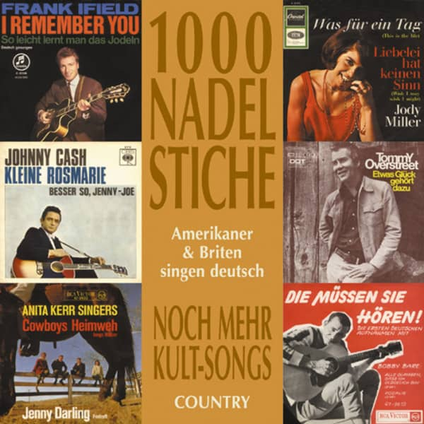 Vol.02, Country - Amerikaner & Briten singen deutsch