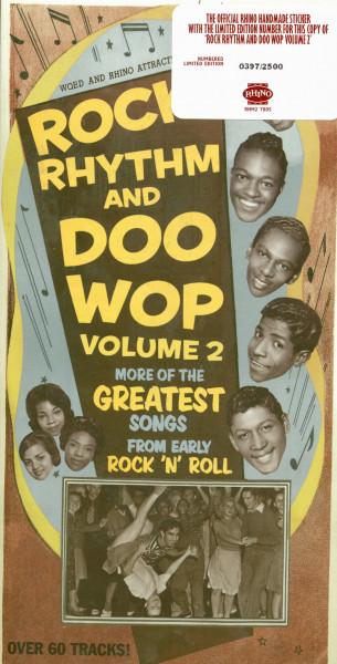 Rock, Rhythm And Doo Wop Vol.2 (3-CD Box, Ltd.)