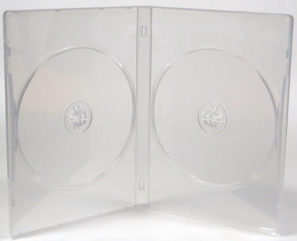 Doppel DVD Leerhülle - durchsichtig