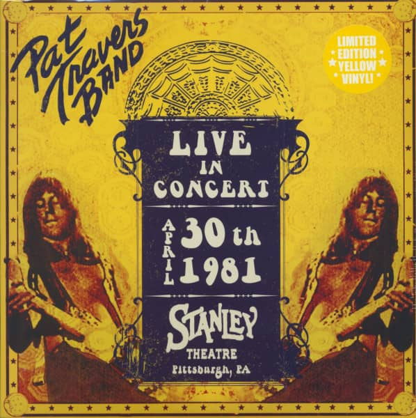Live In Concert April 30th 1981 - Stanley Theatre, Pittsburg (LP, Colored Vinyl, Ltd.)