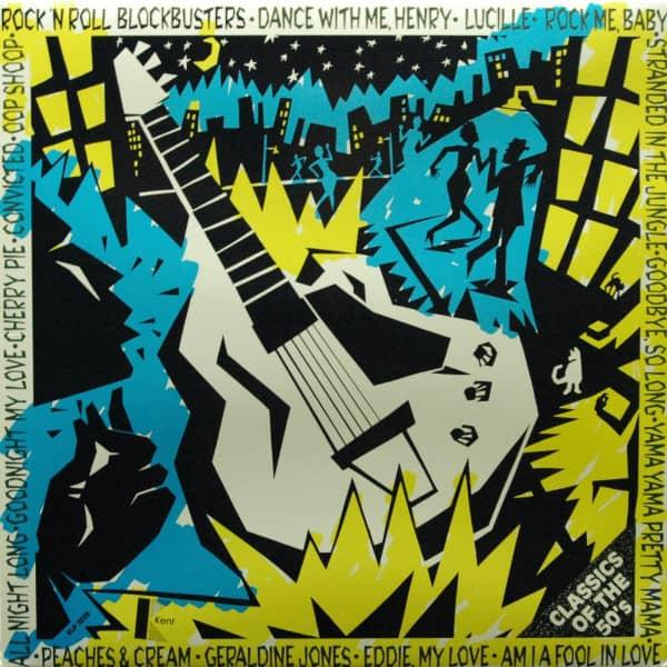 Rock'n'Roll Blockbuster - Classics The 50's (Vinyl LP)