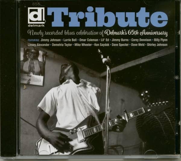 Tribute: Newly Recorded Blues Celebration of Delmark's 65th Anniversary (CD)