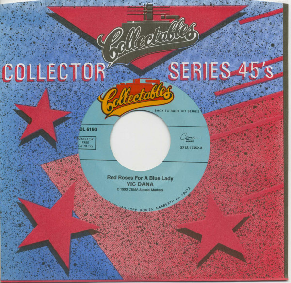 Red Roses For A Blue Lady - I Love You Drops (7inch, 45rpm, CS)