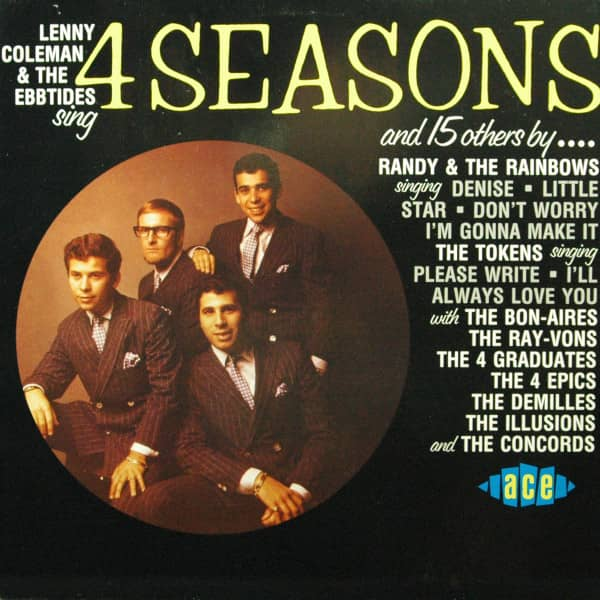 Lenny Coleman & The Ebbtides Sing 4 Seasons And 15 Others By ... (Vinyl LP)
