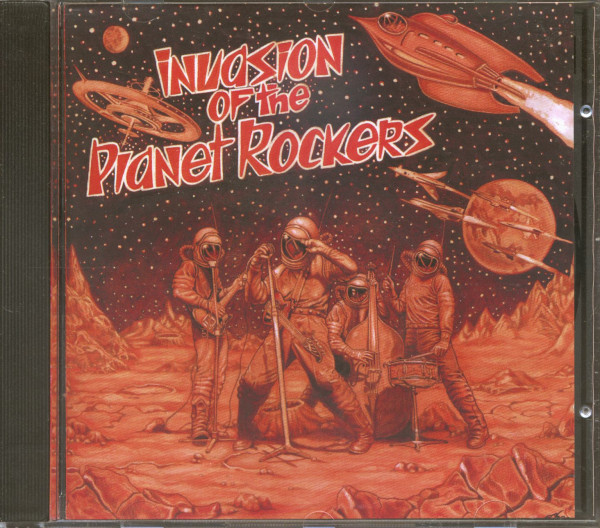 Invasion Of The Planet Rockers (CD)