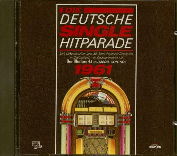 Die Deutsche Single Hitparade 1961 (CD)