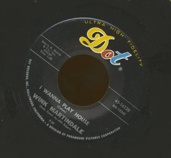 I Wanna Play House - The Glory Of Love (7inch, 45rpm)