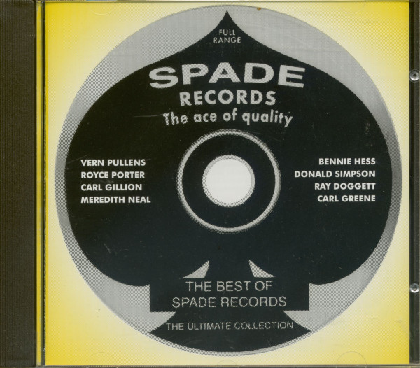 The Best Of Spade Records - The Ultimate Collection (CD)