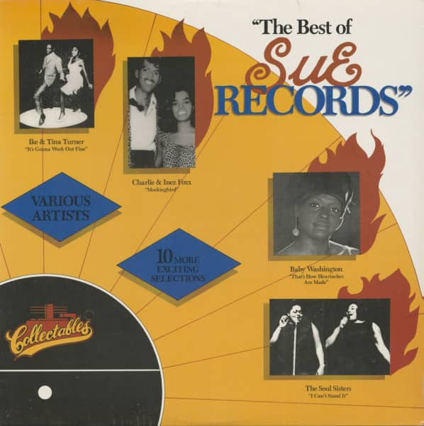 The Best Of Sue Records (LP)