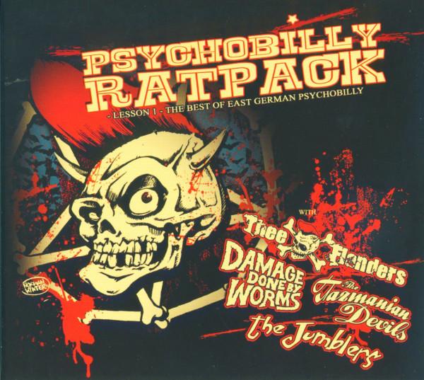 Psychobilly Rat Pack - Lesson 1 (CD Digipak)