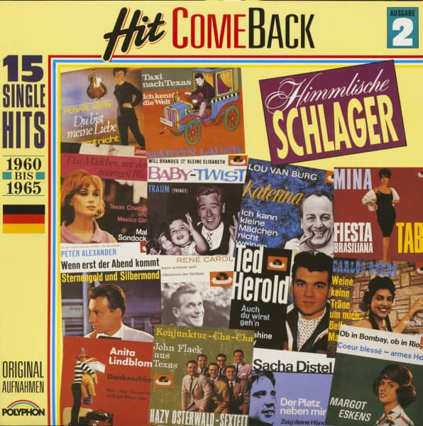 Hit Come Back - Himmlische Schlager Nr. 2 - 1960-1965 (LP)