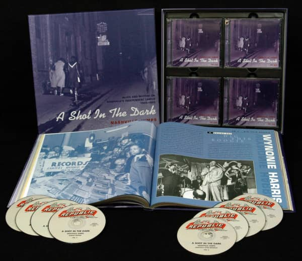 Nashville Jumps, Blues & Rhythm 1945-1955( 8-CD Box)