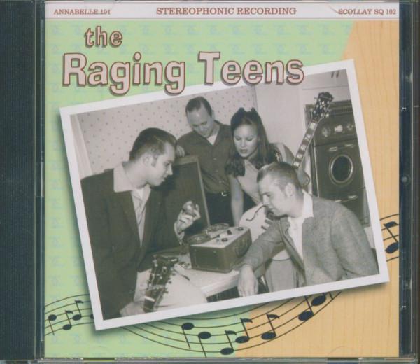 The Raging Teens (CD)
