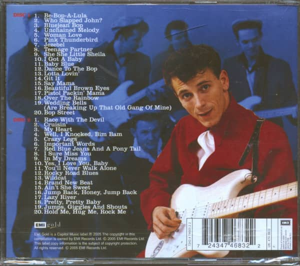 The Very Best Of Gene Vincent (2-CD)