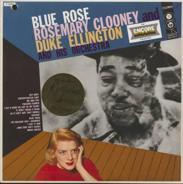 Blue Rose - Rosemary Clooney And Duke Ellington (LP)