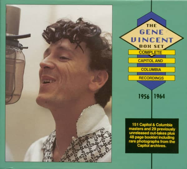 The Gene Vincent Box Set - Complete Capitol & Columbia Recordings 1956-1964 (6-CD)